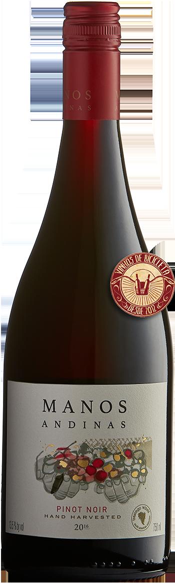Manos Andinas Reserva Pinot Noir (Biodinâmico)