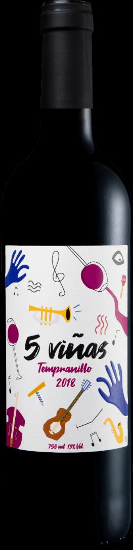 Cinco Viñas Tempranillo