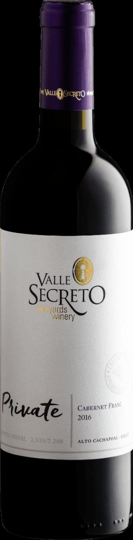 Valle Secreto Private Cabernet Franc