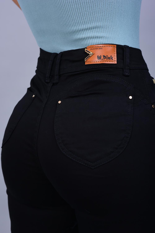 Calça Feminina Jeans Skinny Preta